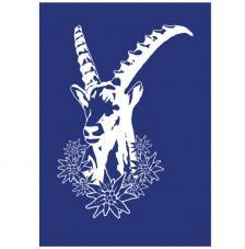 Stencil My Style Cabra 14,8x21 cm