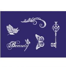 Stencil My Style Vintage Beauty 14,8x21 cm