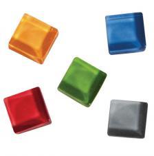 Teselas Soft Glass mezcla colores 1x1cm. 525 pzas
