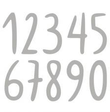 Troquel Números mano alzada