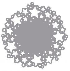 Troquel Stencil Estrellas