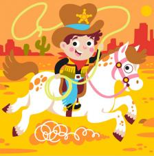 Cowboy. 3 medidas disponibles
