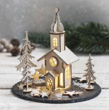 Kit montage Iglesia Navidad Ø 5 cm