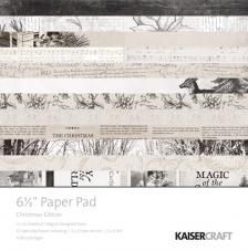 52 papeles 16,5x16,5 cm. Block Christmas
