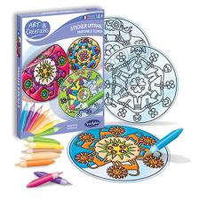 Ac stickers vitral mandalas