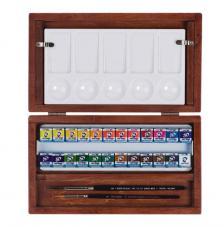 Caja madera 24 pastillas acuarela Van Gogh