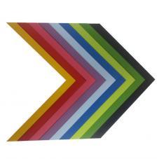 Marco con trasera 30x30 cm. 12 colores