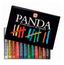 Set 12 barras pastel Oleo Panda