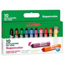 Estuche 10 Rotuladores Supercolor GRUESO