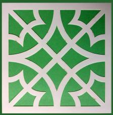 Stencil Mosaico 7 15x15 cm