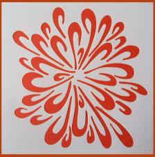 Stencil Fondo 3 20x20 cm