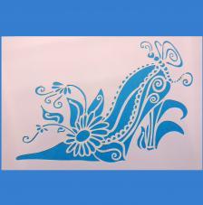 Stencil Zapato 9 20x30 cm