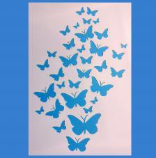 Stencil Mariposas 20x30cm