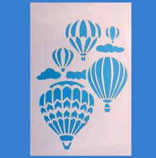 Stencil Globos Aerostaticos 20x30cm