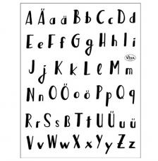 Sello Silicona 14x18 cm. Mod. 171 Alphabet
