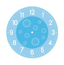 Set stencils reloj Ø 30 cm. Arabic