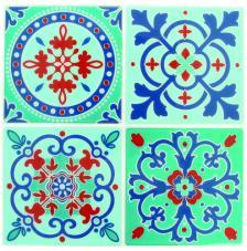 Pegatina Mosaico 26,5x31 cm. Modelo 27