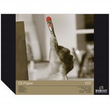 Bloc papel para Oleo Rembrandt 10 hojas 300g/m2. 24x32 cm