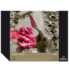 Bloc papel para Acrílico Rembrandt 10 hojas 400 g/m2. 30x40 cm