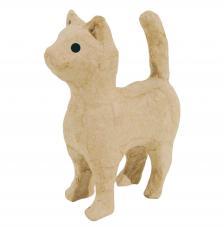Gato de pie12x5x11 cm