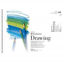 Bloc de dibujo con espiral Strathmore 40 hojas 104 g/m2. A2