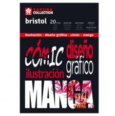Bloc Bristol para Comic y Manga. Sakura 20 hojas 250 g/m2. A5