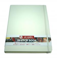Cuaderno boceto tapa dura cosida Blanco Art Creation 80 hojas 160 g/m2. 21X29,7 cm