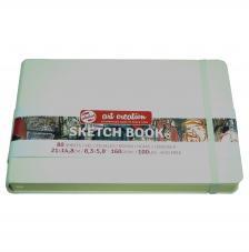 Cuaderno boceto tapa dura cosida Blanco Art Creation 80 hojas 160 g/m2. 21X13 cm