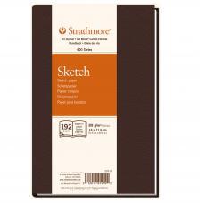 Cuaderno boceto tapa dura cosida Strathmore serie 400 96 hojas 89 g/m2. 14X21,6 cm