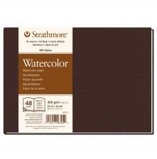 Bloc Acuarela tapa dura Strathmore serie 400 24 hojas 300 g/m2. 21,6x14 cm