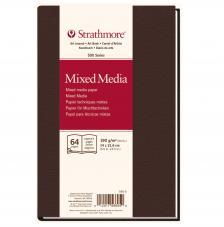 Bloc Técnicas mixtas Strathmore serie 500 32 hojas 190 g/m2. 14x21,6 cm