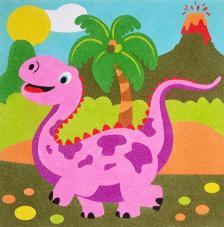 Dinosauiro Stegosaurus. 3 medidas
