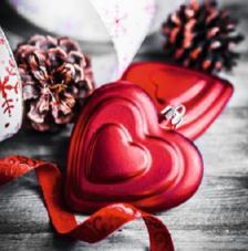 20 Servilletas Navidad. Corazones