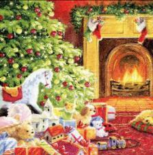 20 Servilletas Navidad. Nochebuena