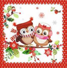 20 Servilletas Navidad. Él y tú