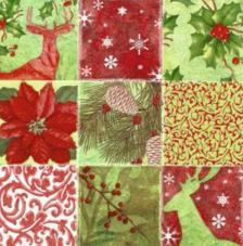 20 Servilletas Navidad. Estacional