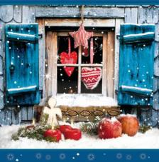 20 Servilletas Navidad. Chalet