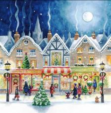 20 Servilletas Navidad. De compras