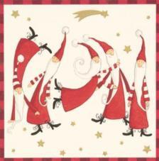 20 Servilletas Navidad. Magia Navidad
