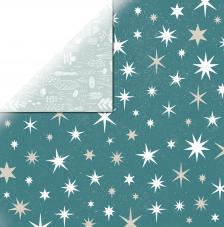Papel doble cara 30,5 x 30,5 cm. Stars