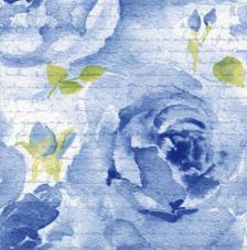 20 servilletas. Rosa Delicada azul