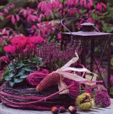 20 servilletas. Otoño violeta