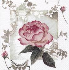 20 servilletas. Rosa vintage
