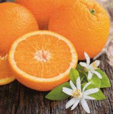 20 Servilletas. Naranjas