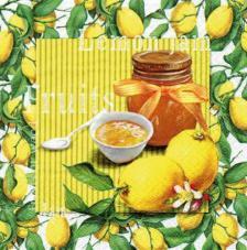 20 Servilletas. Mermelada de limón