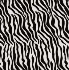 20 servilletas. Zebra