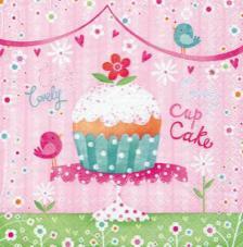 20 Servilletas. Cupcake