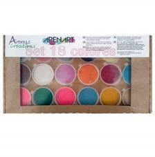 Set 18 colores arenas surtido botes 45 gr