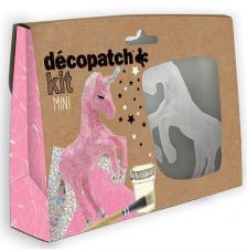 Mini-kit Decopatch Unicornio