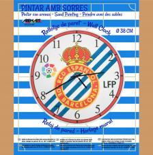 Set Pinta Reloj Pared con arenas. R.C. Español
